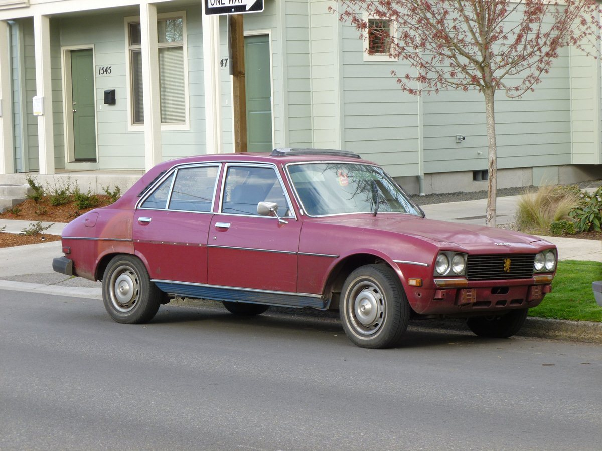 Curbside classic 1976 peugeot 504 one continent s french mercedes and coty is another continent s most rugged vehicle is another continent s pos