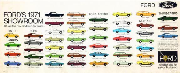 Ford 1971 models