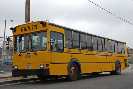 Gillig Phantom School_Bus_LAUSD