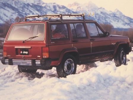 Jeep Cherokee 1984 snow