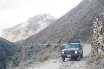 Jeep cherokee back roads