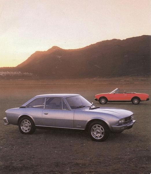 Peugeot 504 coupe cabrio