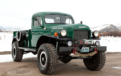 Power Wagon single cab
