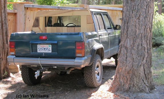 Redneck DIY XJ Pickup Tahoma CA CC Crop