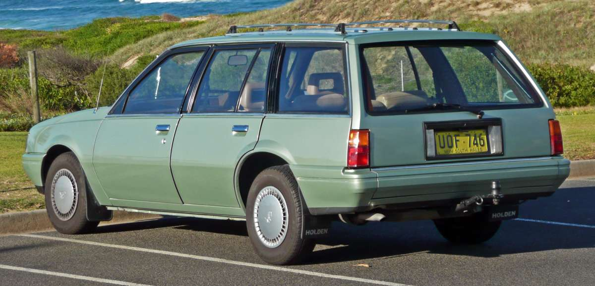 Curbside Classic Holden Camira The Short Lived