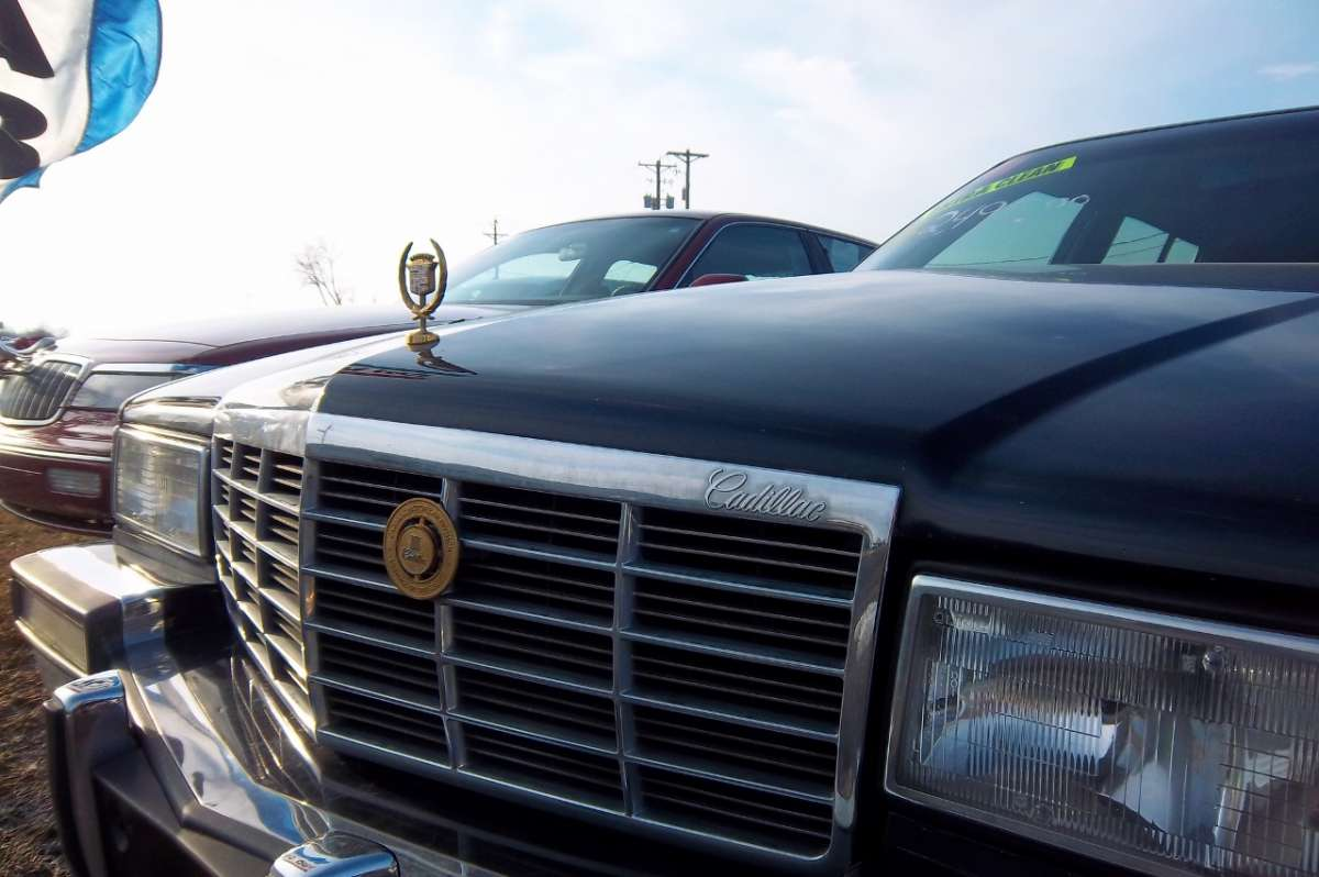 Curbside Clic: 1991 Cadillac Sedan de Ville – Save Me!