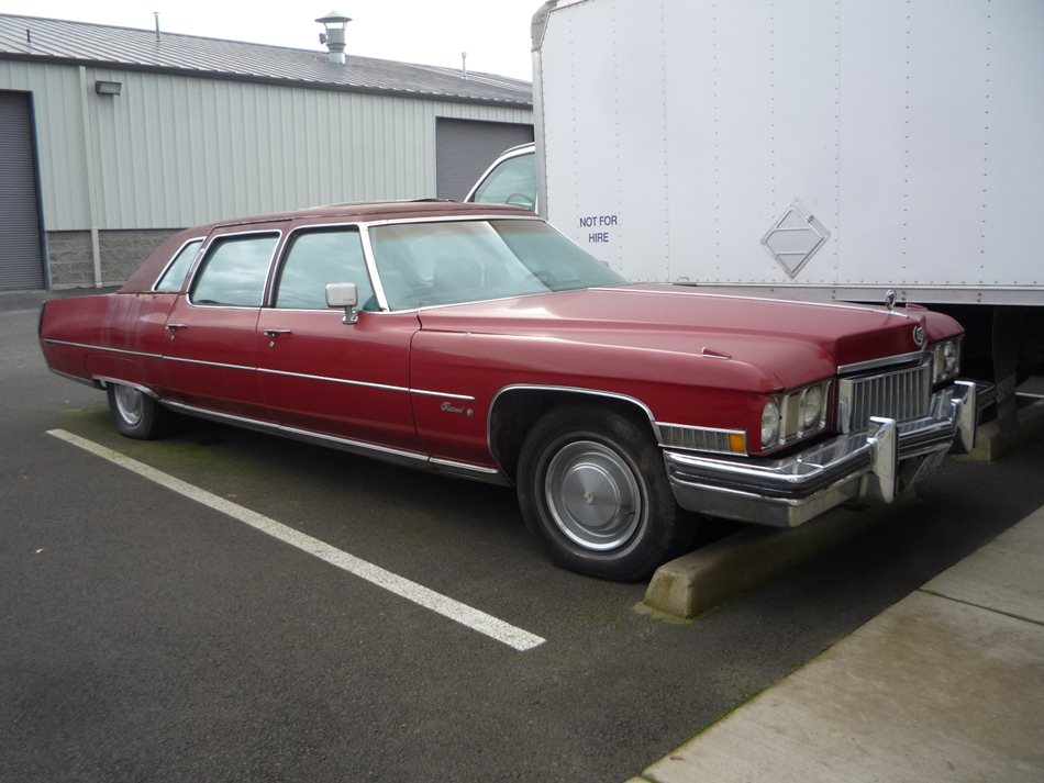 Curbside Classic: 1973 Cadillac Fleetwood 75 – The Longest ...