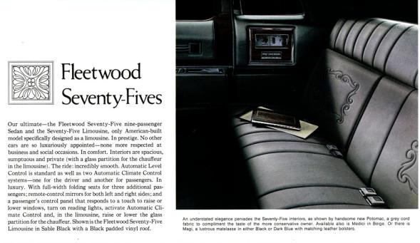 Cadillac 1973 Fleetwood 75int