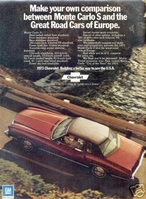 Chevrolet Monte Carlo m1973 Ad_MonteCarloS