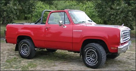 Dodge Ramcharger 1975