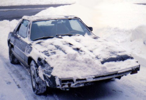 Fiat X19_snow