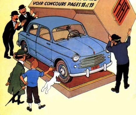 Fiat1100 tintin