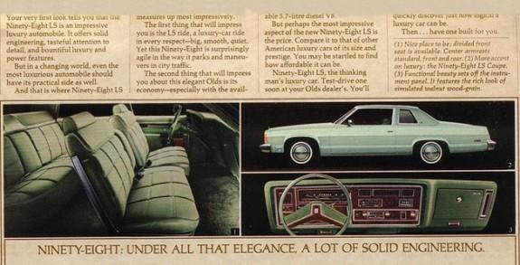 1979 Oldsmobile  Lg -12