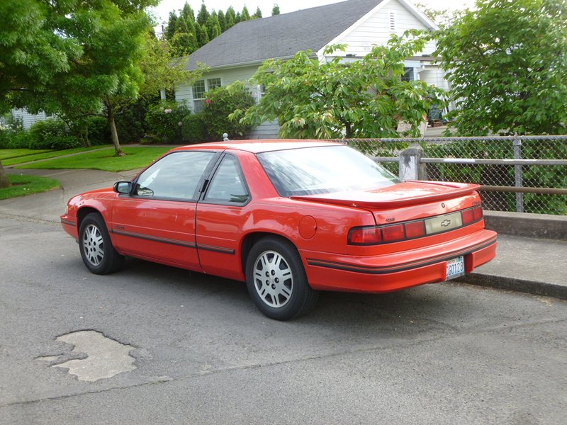 curbside classic: 1991 chevrolet lumina euro – gm's deadly sin