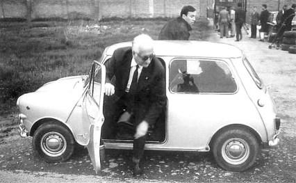 Ferrari and Mini Cooper