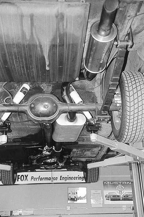 Ford Fairlane rear susp 1963