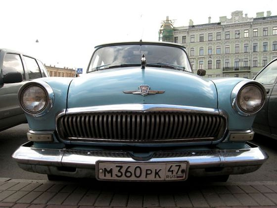 GAZ-21 3rd_generation Volga (blue_colored)