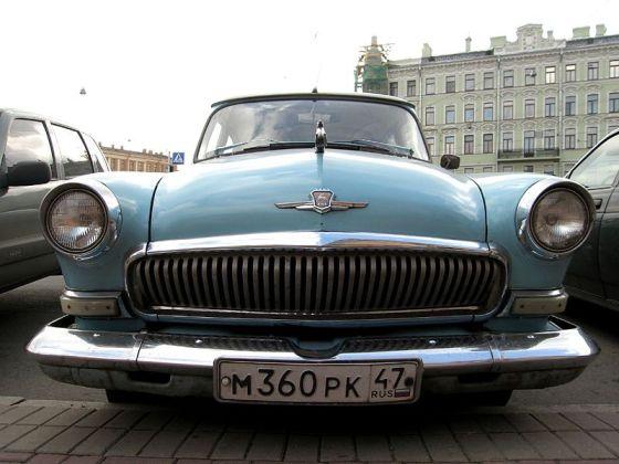 GAZ-21 3rd_generation Volga (blue_colored)