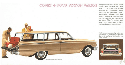 Mercury Comet 1960 wagon