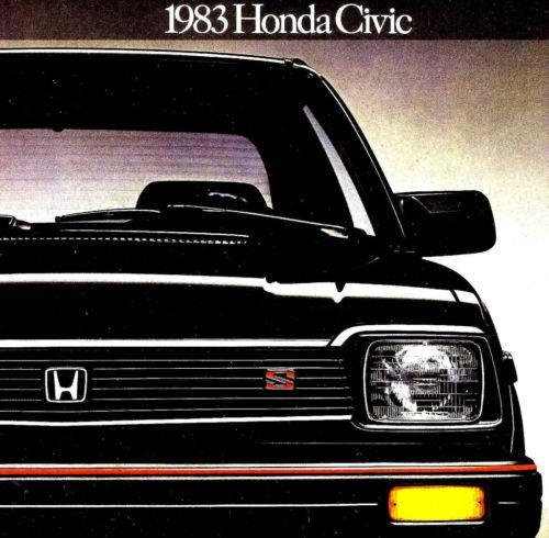 The First Car Of A Lifetime: 1982 Honda Civic