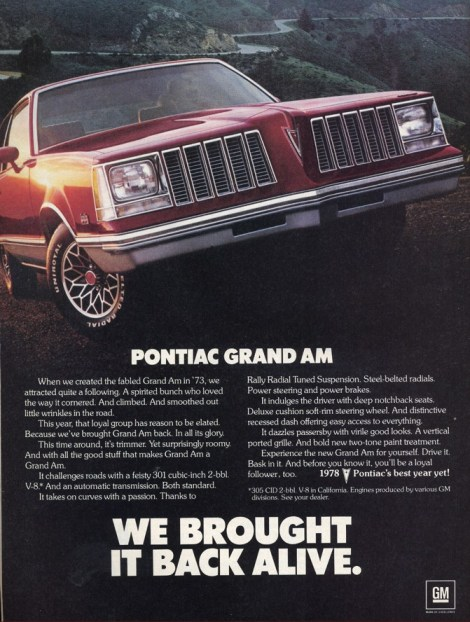 pontiac grand_am 1978