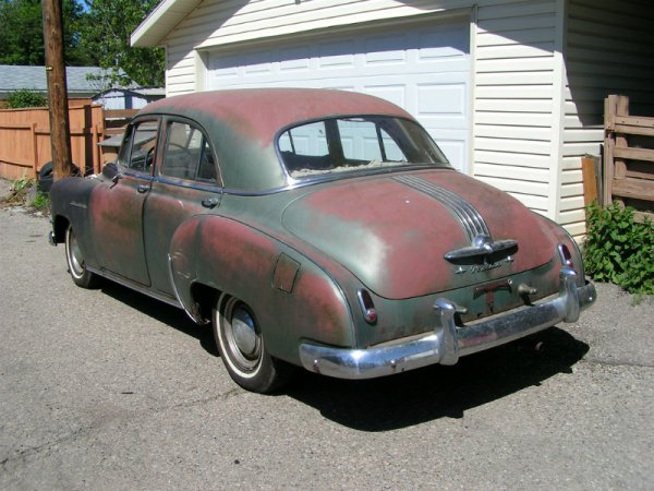 1950 Pontiac Silver Streak rear