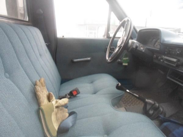 1982 Toyota pickup diesel interior