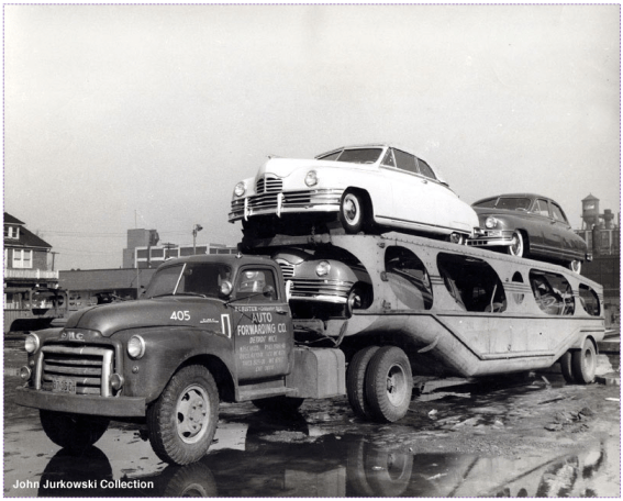 Car Carrier Packard
