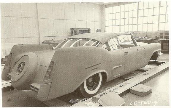 Chrysler 57 styling buck