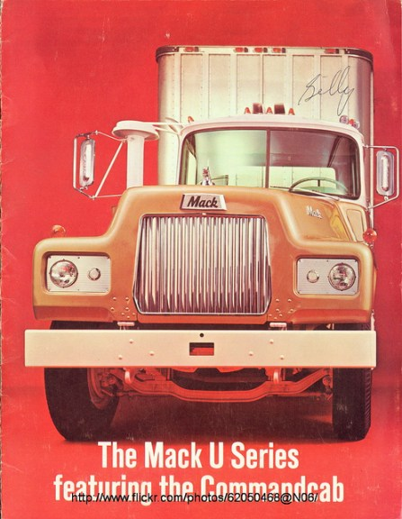 Mack R series U Cab