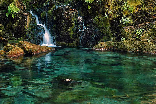 Opal creek pool