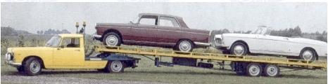 Peugeot 404 car transporter