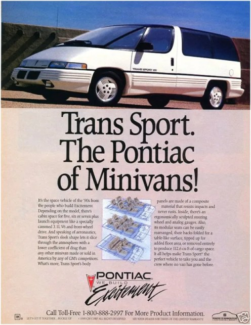 The Pontiac of Minivans