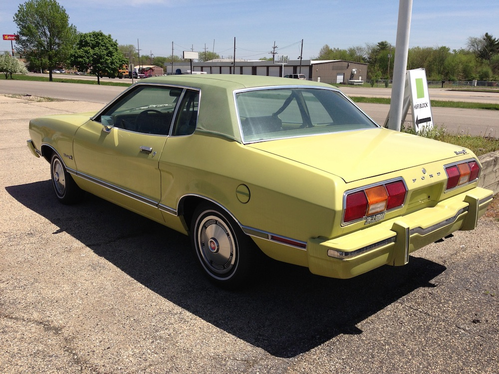 Curbside Classic: A Tale of II Mustangs – What A Difference Five ...