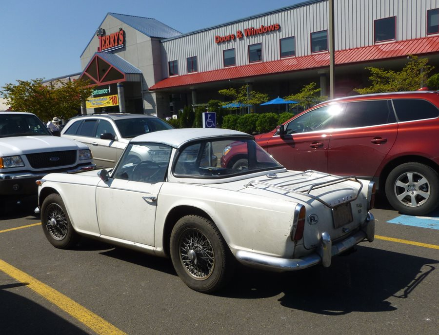 Curbside Classic Triumph Tr4a Irs Stereotype Defying Tractor