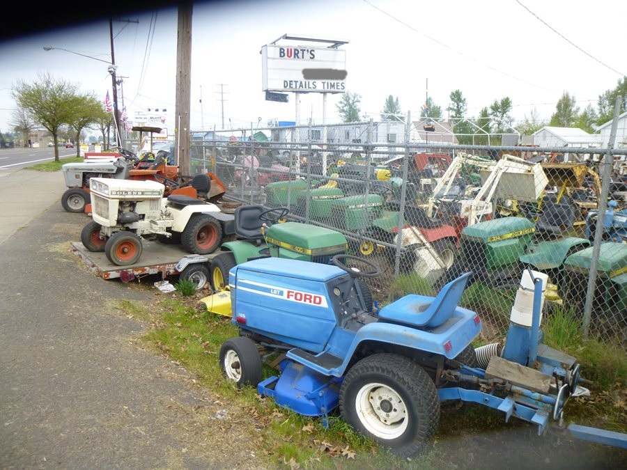 old ford tractor parts with Lawnside Classics Burts Riding Mower And Garden Tractor Heaven Including One Of The Oldest Riding Mowers Ever on 240756 Ford 918h Flail Mower 2 further Vintage Machines further Turn Signals besides Used Ford furthermore Used Tractors.