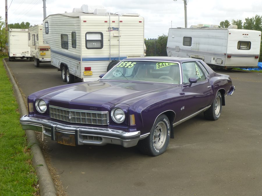 Curbside Classic For Sale: Purple 1975 Chevrolet Monte Carlo Landau ...