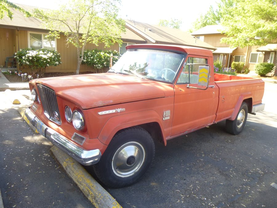 Curbside Classic 1967 Jeep Gladiator J3000 – The Truck Of Future