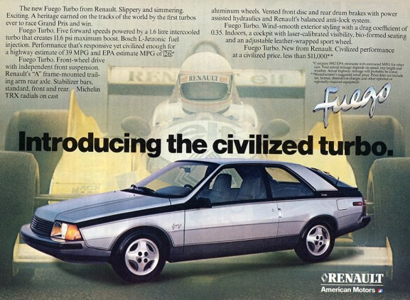 Renault Fuego Ad_silver_civilized_1982