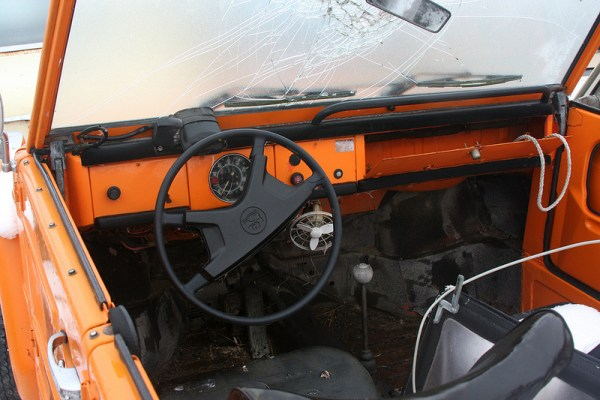Volkswagen Thing interior