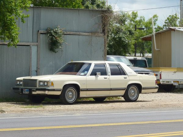 1988-91 Mercury Grand Marquis Conroe TX 11 May 12
