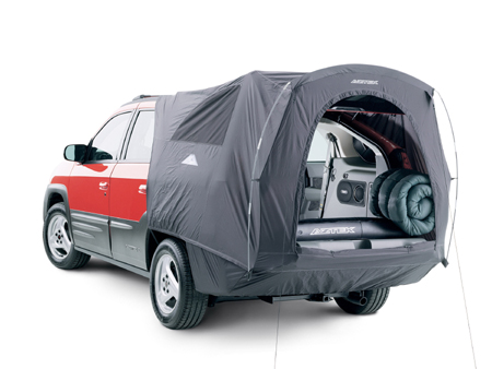 Aztek with tent