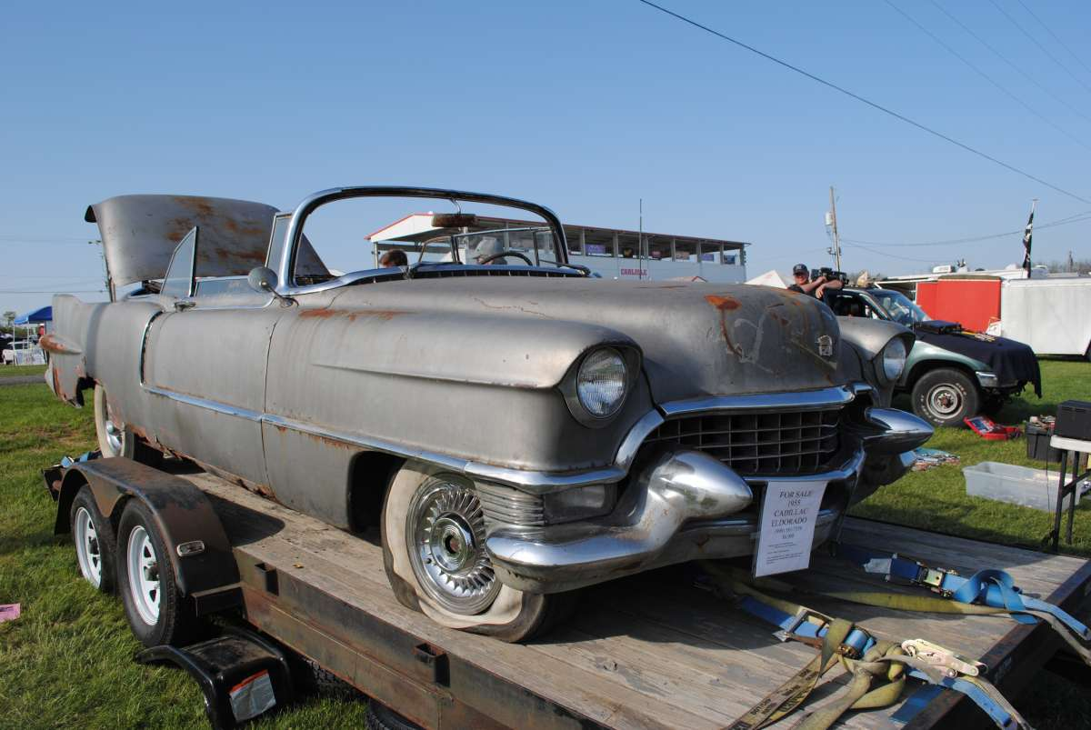 Car Show Classic: 1955 Cadillac Eldorado – If Only It Could Talk