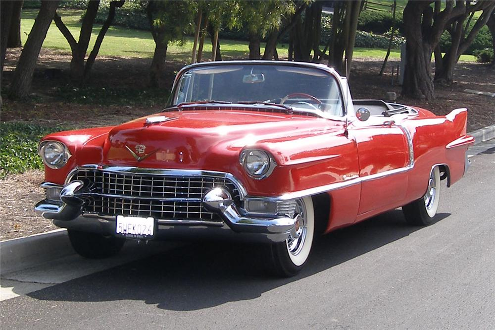 car show classic 1955 cadillac eldorado if only it could talk. Black Bedroom Furniture Sets. Home Design Ideas