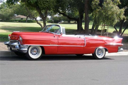 Cadillac 1955 Eldorado side