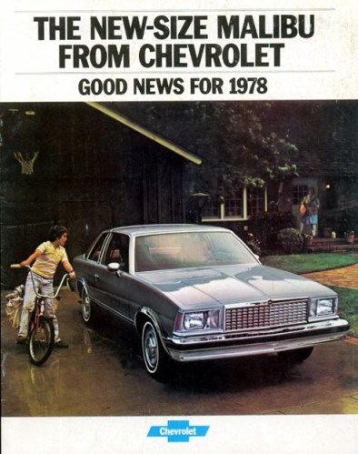 Chevrolet Malibu 1978 -01