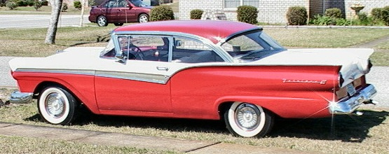 Ford 1957 fairlane 500 2drht021705