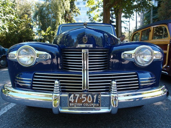 Lincoln Continental 1942 fr
