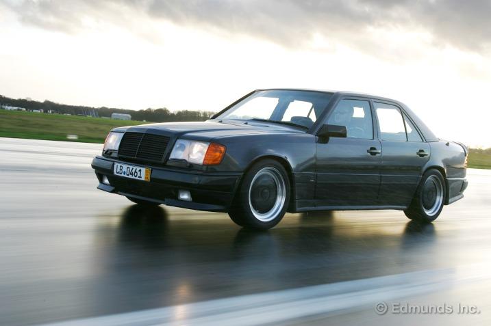 Curbside Classic Mercedes W124 19851996 EClass The Best Car