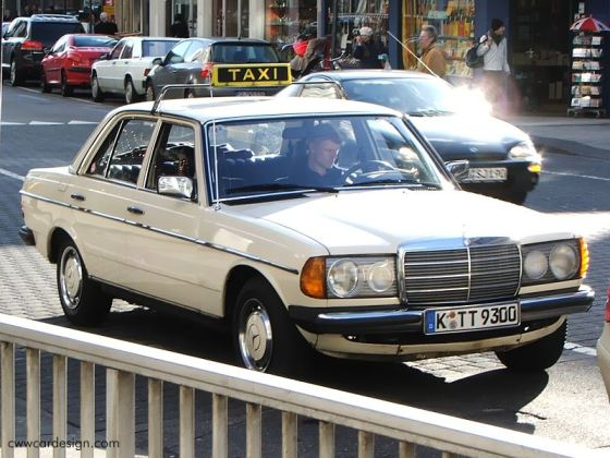 mercedes _w123_taxi